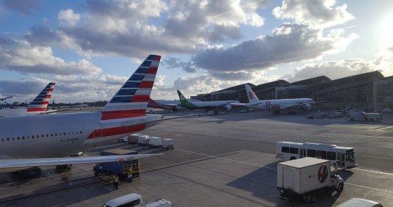 Transit hotels Miami airport