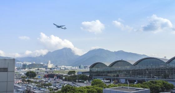 Transit hotel in Hong Kong airport
