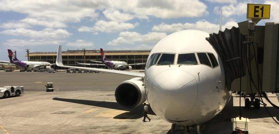 Honolulu airport in Hawaii airlines flights hotels